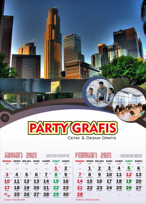 Cetak Kalender 2021 - Partygrafis.com